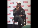 Tom payne during a live panel at ws new jersey 2017