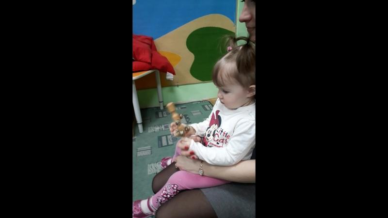 Ранне развитие малышей с 9 месяцев в Детском Центре Паритошка