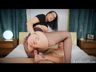 Kimberly Kane gets fucked in black pantyhose