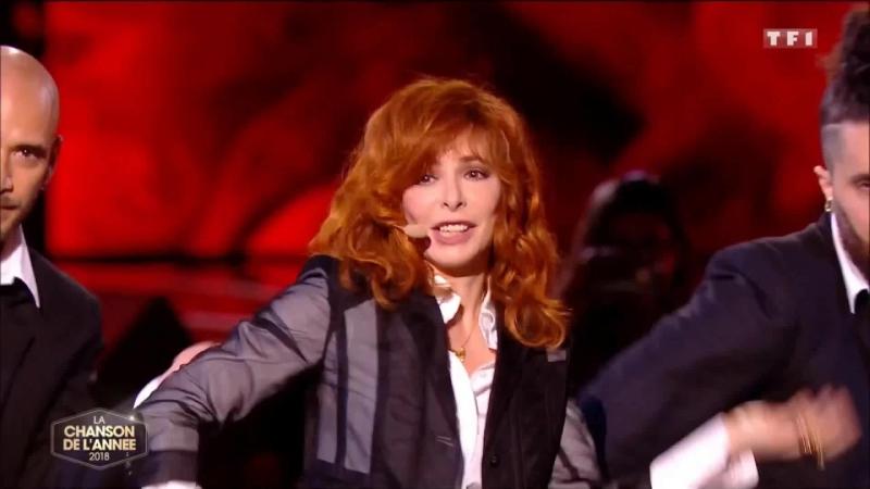 Mylene Farmer - Милен Фармер - Rolling Stone - Выступление в La Chanson De L'annee - TF1 - 08.06.2018