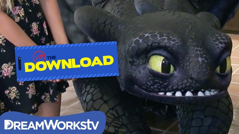 Meet Toothless in Real Life | THE DREAMWORKS DOWNLOAD