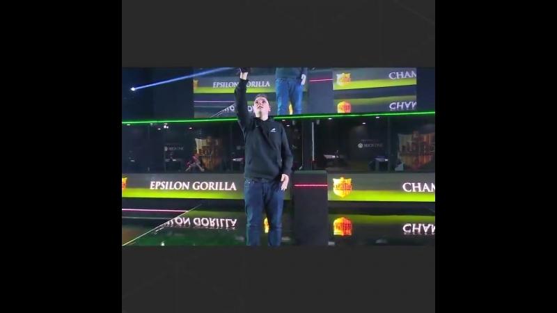 Gfinity поздравляет Гориллу с возвращением !