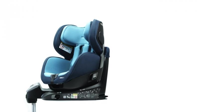 RECARO Zero.1 - кресло с вращением чаши на 360 градусов