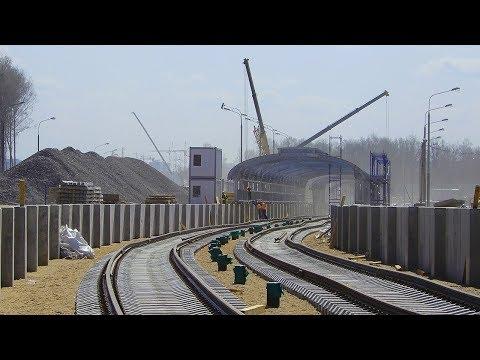 Продление Сокольнической линии от станции Саларьево до Столбово 20.04.2018