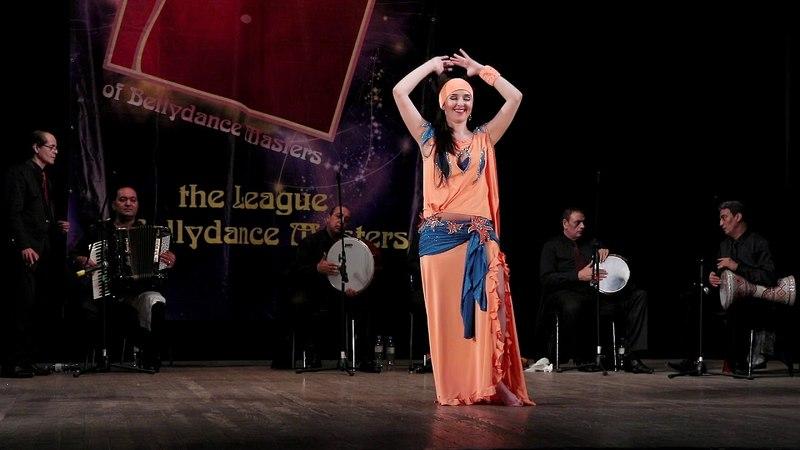 Perova Ekaterina - Baladi tabla - Safa Farid Live