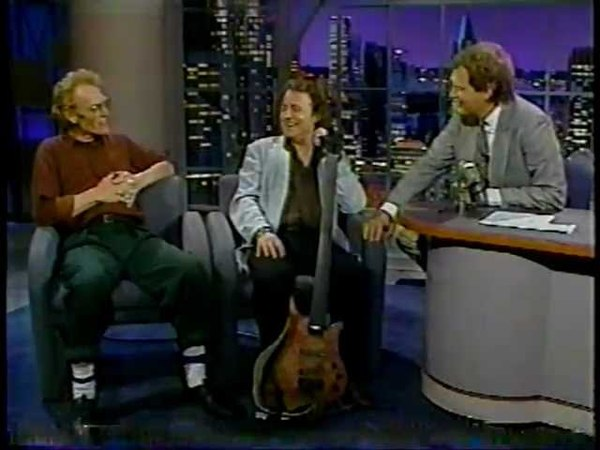 Jack Bruce Ginger Baker @ The David Letterman Show 1991