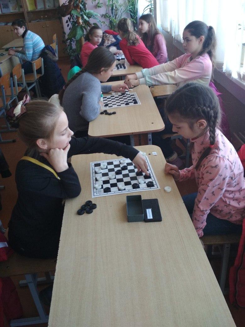 Районные соревнования по шашкам