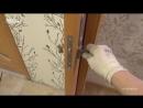 Установка раздвижных дверей в тонких стенах собственной комплектации Межкомнатны