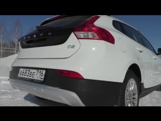 2013 Volvo V40 Cross Country D2. Обзор (интерьер, экстерьер, двигатель)