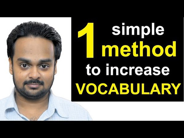 1 Simple Method to Increase Your Vocabulary The 3R Technique How to Improve Your Vocabulary
