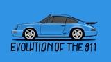 Evolution of the Porsche 911  Donut Media