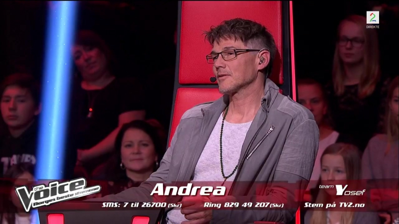 Andrea Santiago Stønjum - Set Fire To The Rain (The Voice Norge 2017) 17.11.17