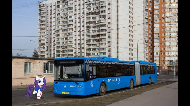 Поездка на автобусе ЛиАЗ-6213.65-77 № 151687 Маршрут № 794 Москва