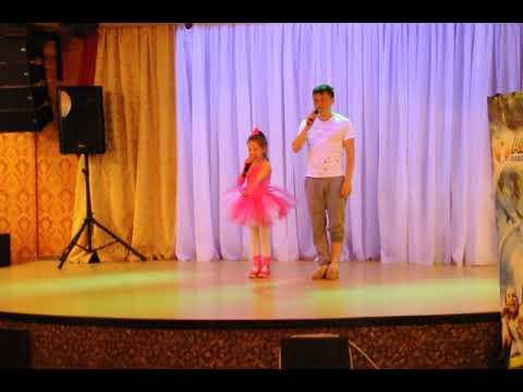 Федорова Ксения (п.Кугеси) и Андрей Шадриков с песней Мойдодыр ЮТВ