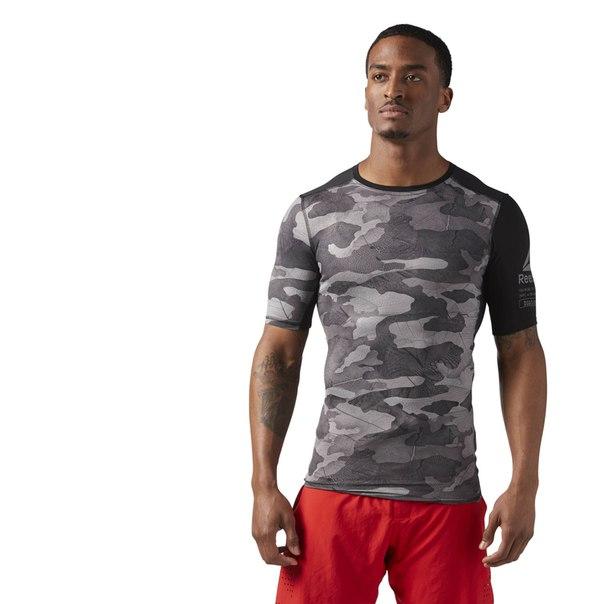 Компрессионная футболка ACTIVCHILL Exo Camo