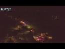 Видео облёта места крушения Ан-148 с дрона