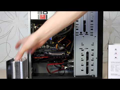 Замена радиатора охлаждения процессора. Ремонт Дилетанта.