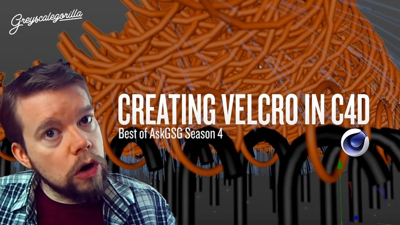 Recreating the Velcro Effect In Cinema 4D | Greyscalegorilla AskGSG
