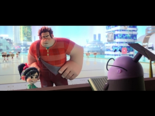 Ральф против интернета / Ralph Breaks the Internet: Wreck-It Ralph 2.Трейлер (2018) [1080p]