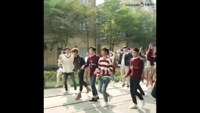 [VIDEO] 161028 EXO DO @ Kakao Talk Update_ Pepero Behind The Scene