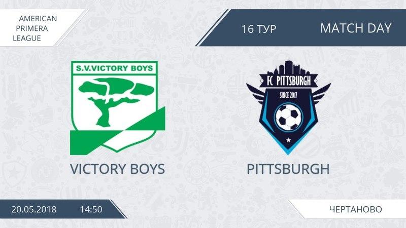 AFL18. America. Primera. Day 16. Victory Boys - Pittsburgh