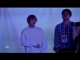 `FANCAM` 170924 Taehyung - Winner Really Really Reaction @ SBS Inkigayo Super Concert in Daejeon.