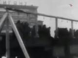 Казнь фашистов в Ленинграде у кинотеатра Гигант на пл. Калинина, 5 января 1946 г
