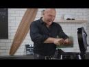 Денис Семенихин ломает спагетти! Это надо видеть!!!)))Папа может!:DD