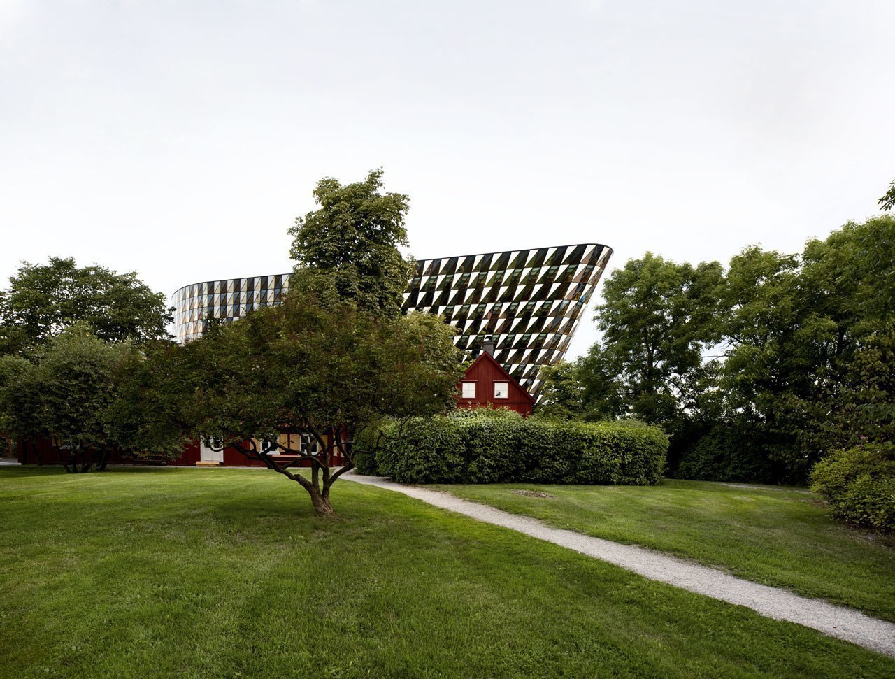 Aula Medica / Wingårdhs / Solna, Sweden