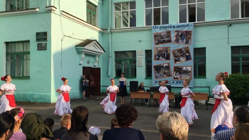 Танец «Авалюлька»Выступление на родительском собрании 22 мая 2018 год