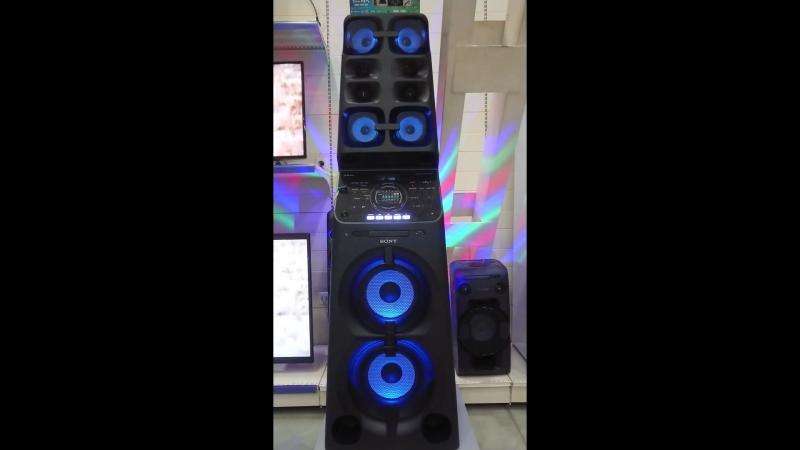 Аудиосистема мощного звука SONY MUTEKI MHC V90DW