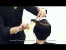 Комбинация треугольной градации и слоёв SAYPLE парикмахер тв