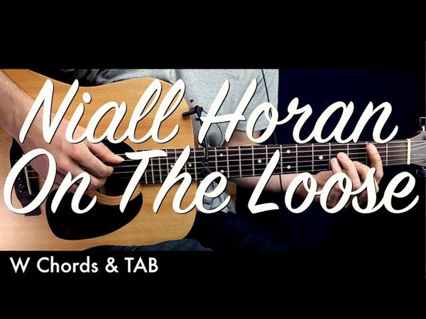 Niall Horan - On The Loose Guitar Lesson Tutorial w Chords TAB / Guitar Cover by How To Play Easy