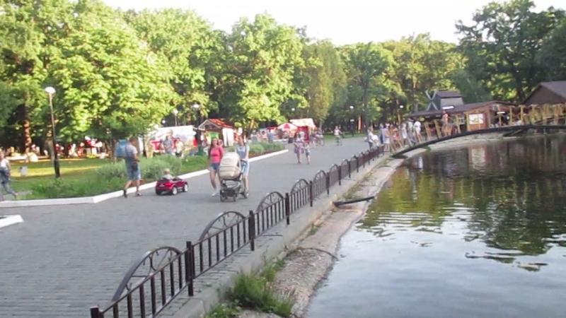 Водные развлечения парка им.Ю.А. Гагарина