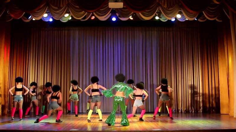 Популярно массовый танец ДИСКО 80х все группы школы танца ПАНТЕРА Иркутск