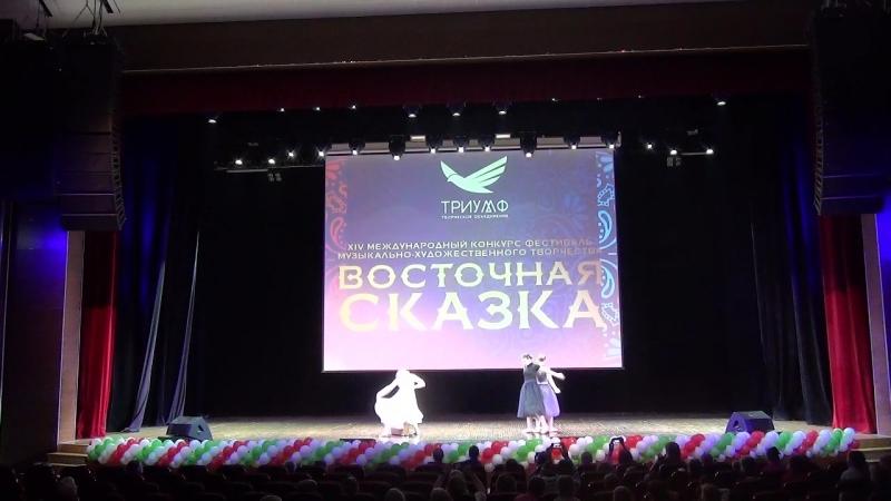 Восточная сказка Казань 30 03 2018 Второй танец трио Сестры