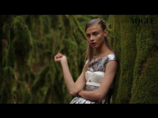 Anna Selezneva by Hans Feurer for Vogue Russia in Sochi_HD.mp4