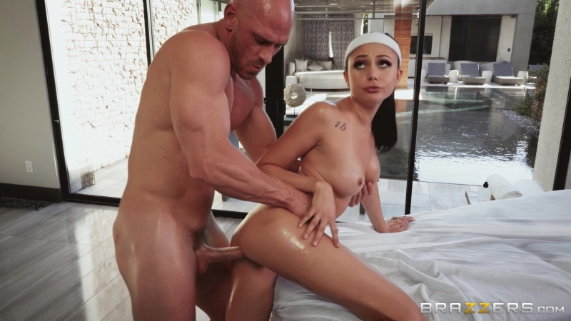 Riding That Endorphin High: Ariana Marie Johnny Sins by Brazzers 4. 12 Full HD 1080p, Massage, Oil, Feet,