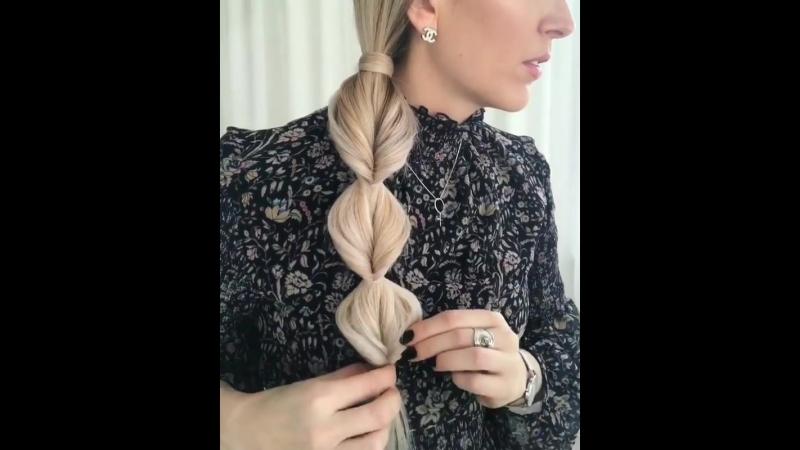 👌Самая простая и элегантная коса!