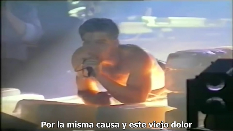Rammstein Das Alte Leid Sub Español Live @ 100 Jahre Arena Berlin 1996 HD