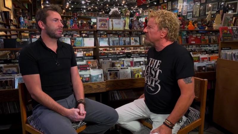 Chad Kroeger Sammy Hagar Interview 2018 (Rock Roll Road Trip with Sammy Hagar_ Rockstar premieres SUNDAY 9_8c)
