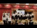 Представление жюри, вступительное слово директора школы выступление 5 А (3,20сек)с номером ЖУРАВЛИ _MVI_7568