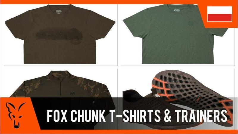 ***FOX CARP FISHING TV POLSKA*** T-shirty Chunk i buty sportowe