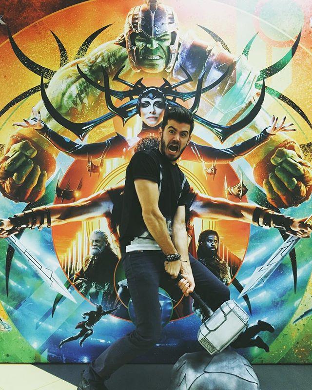 Антон Климик: Almost Thor !))) Рагнарок 2.0 😄 Достойный или «ещё нет» ?😂🤣. #thorragnarok #thor