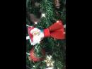 Галстук-бабочка Рождественская