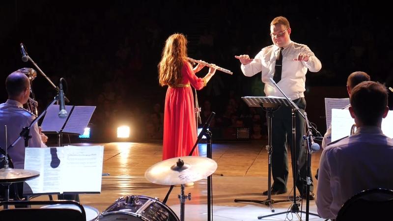 Совместный концерт юных дарований и военного оркестра Росгвардии
