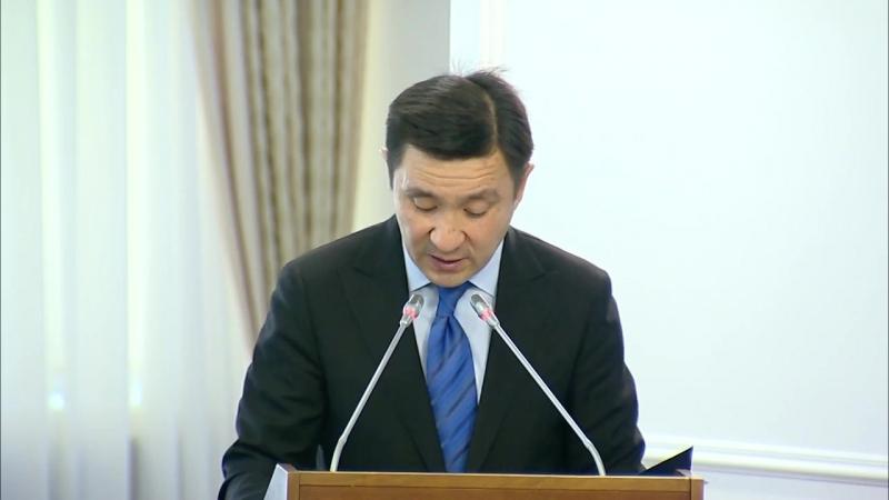 О реализации программы «Рухани жаңғыру» (Ерлан Кожагапанов)