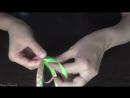 Оплетение ободка четырьмя лентами Ободок Ромбики