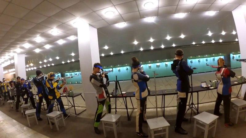 Чемпіонат України - 2018 з кульової стрільби, серед молоді 1995р н та молодші. Гвинтівка ГП-MIX.