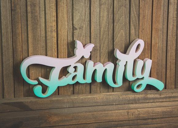 Красивые открытки с надписью семья, маме
